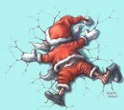 sociable and nice santa