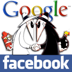Google - Facebook Sociable and Nice War