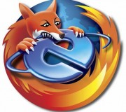 Firefox biting IE - Vectorash.ro