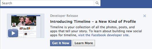 Facebook Timeline Victory