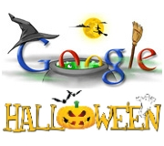 Happy Halloween from Google - Vectorash.ro