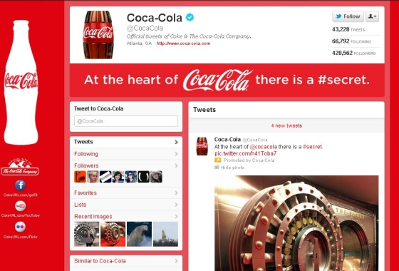 Twitter - Coca Cola