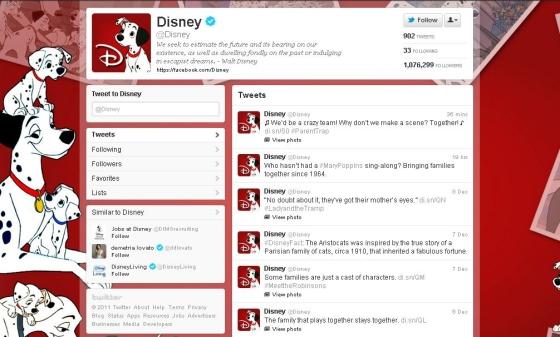 Twitter - Disney