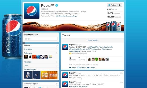 Twitter - Pepsi