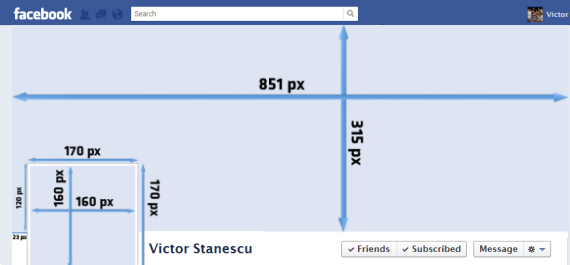 Facebook Timeline Cover Picture layout